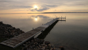 Mullett Lake Michigain Sunrise