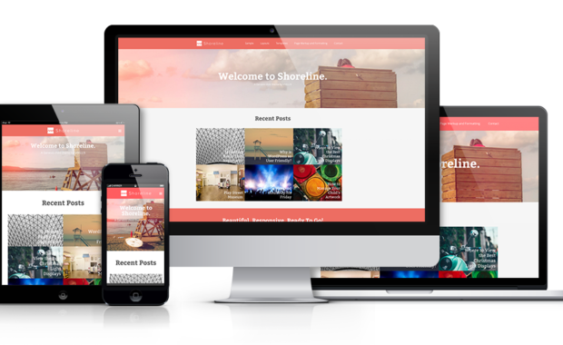 Display The Elegance of Your Business with the Shoreline Genesis Child Theme