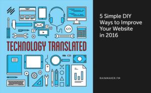 5 Simple DIY Ways to Improve Your Website in 2016